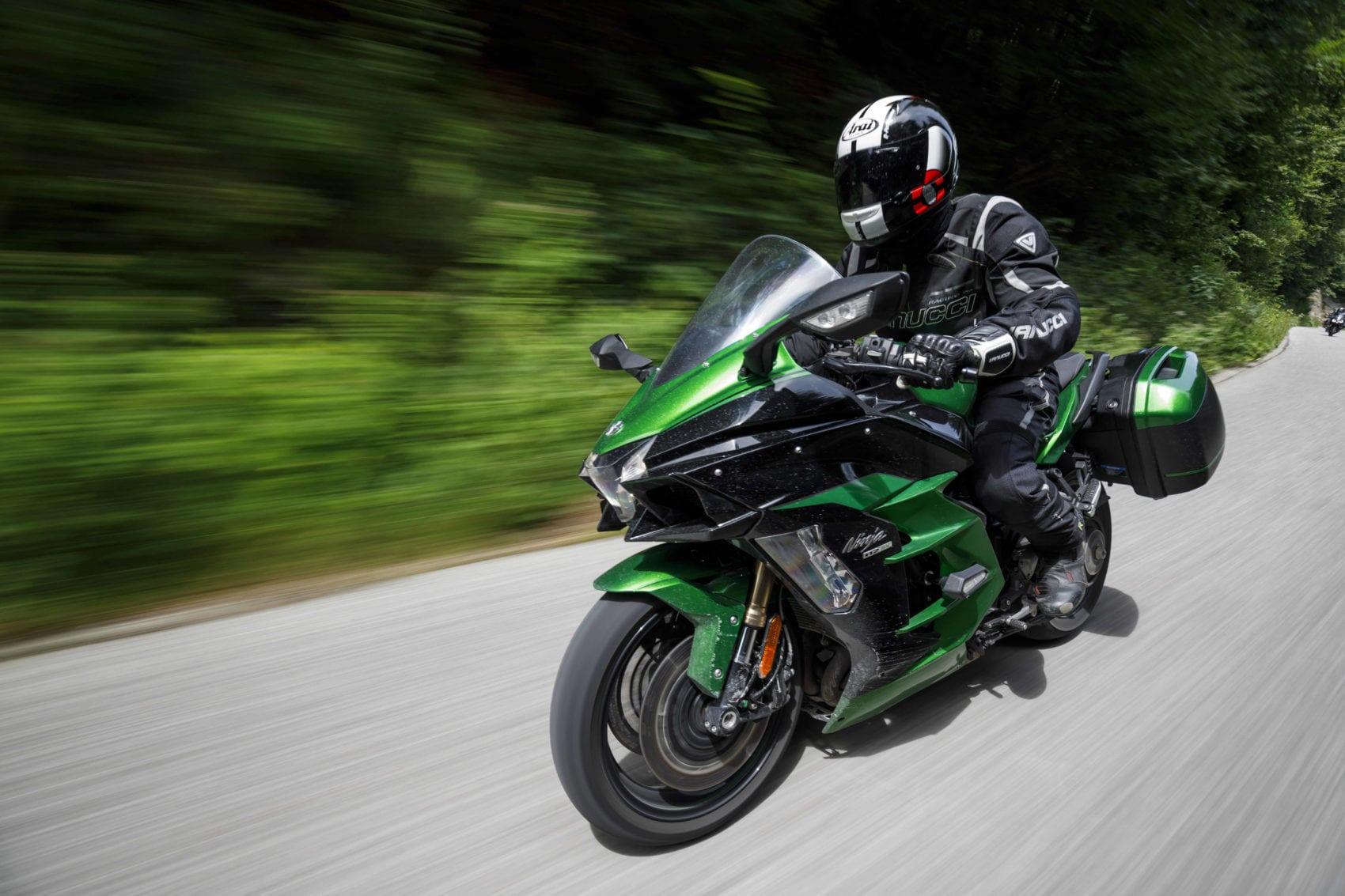 Hartetest Kawasaki Ninja H2 SX SE