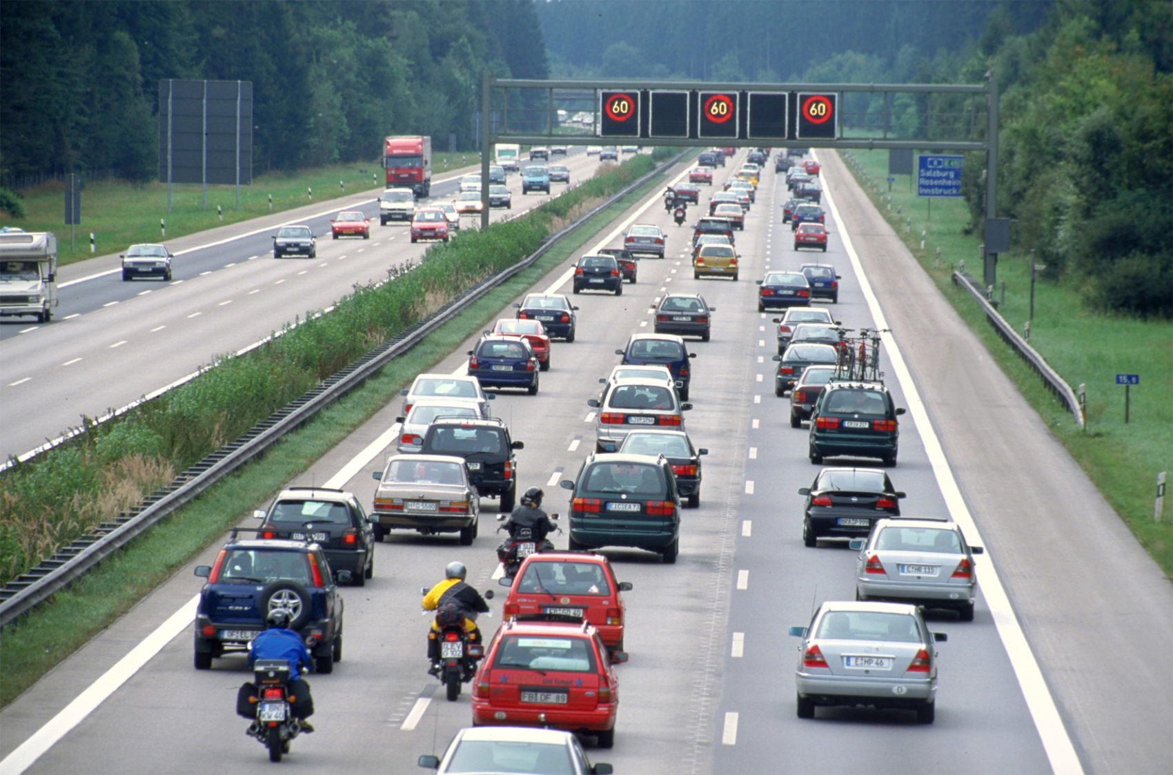 Staus Auf Der Autobahn