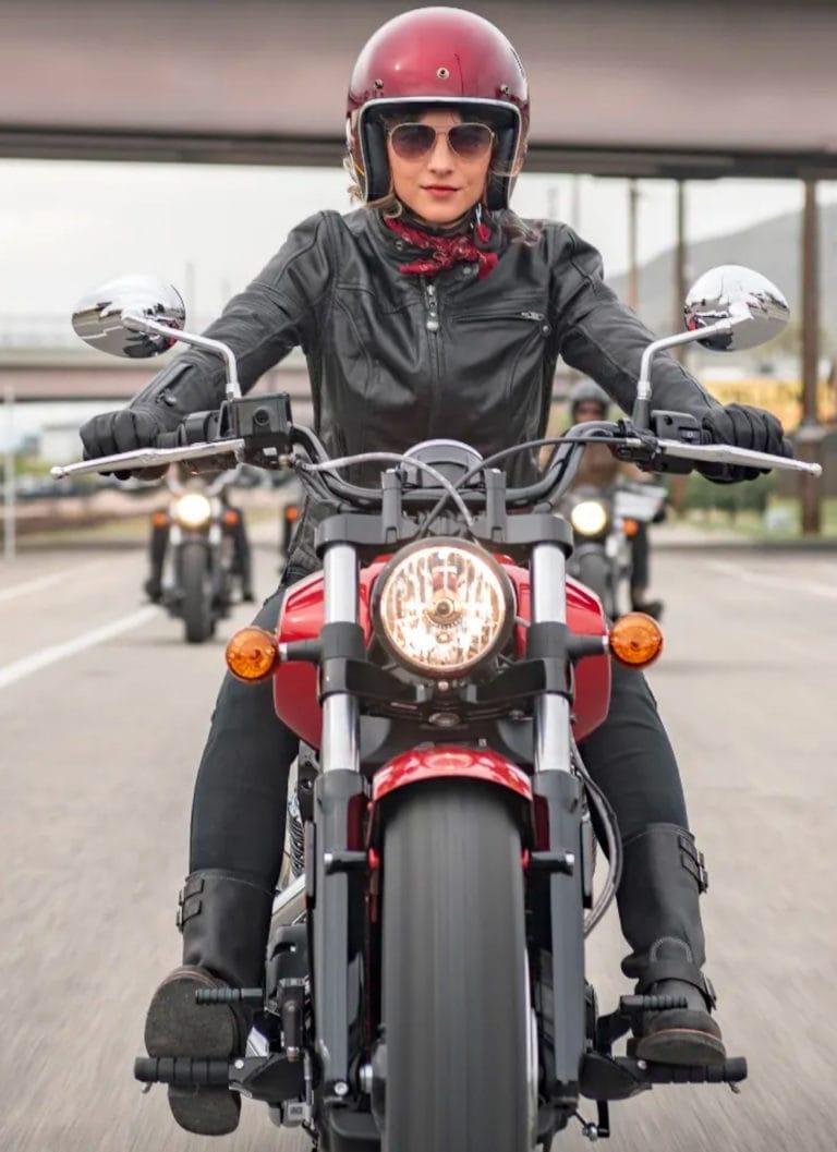 Rund 15 Prozent der Motorräder fahren Frauen - moto.ch
