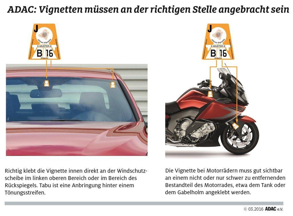 adac digitale vignette österreich