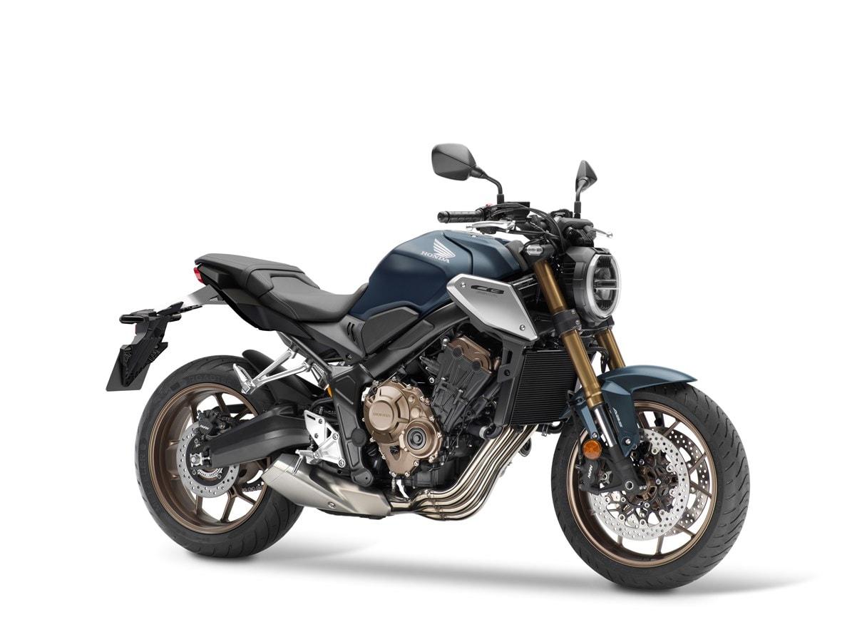 Honda CB650R Modell 2021 - Bild 4/8 - Motorradfotos und